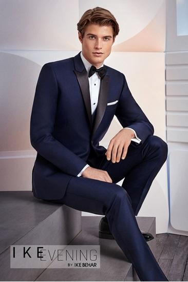 blue tuxedo, ike behar